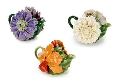Favorite Flowers Teapots