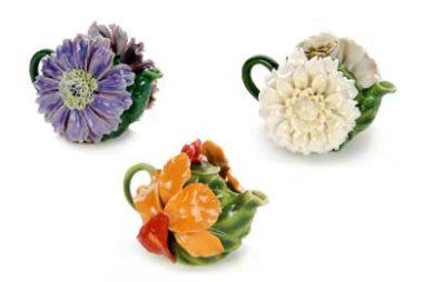 Favorite Flowers Teapots