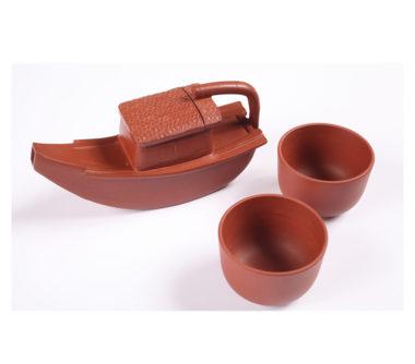 Yixing Boat Teapot