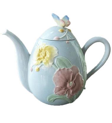Pastel Flower Teapot